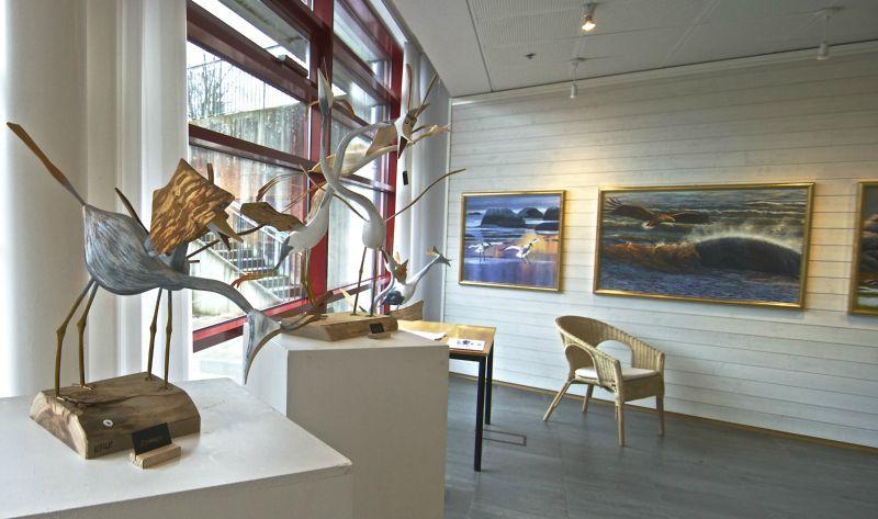 Utställning i Biblioteksgalleriet i Båsta